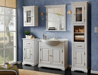 Drewniane meble łazienkowe Romantic 85