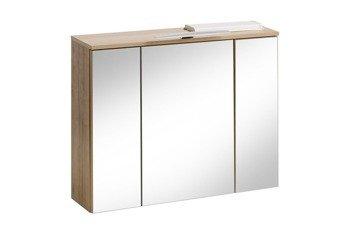 Szafa z lustrem I oświetleniem 80 cm Remik riviera