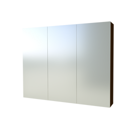 Szafka Scandic 843 z lustrem, dąb palony 100 cm