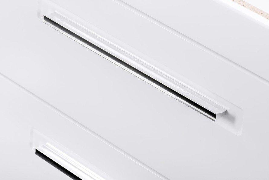 Biała szafka pod umywalkę 80 cm Active