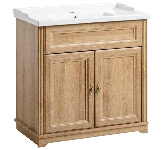 Klasyczna szafka pod umywalkę 80 cm Palace Riviera