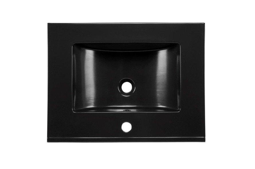 Nowoczesna umywalka E-8003-80 MATT BLACK