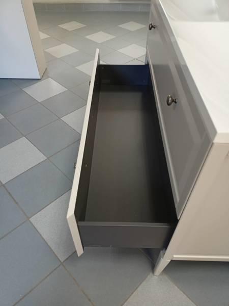 Oristo Szafka pod umywalkę MONTEBIANCO 50 cm piaskowa