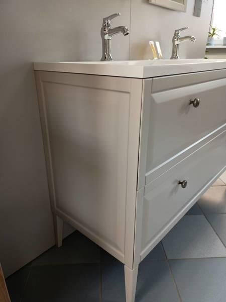 Oristo Szafka z umywalką MONTEBIANCO 50 cm piaskowa