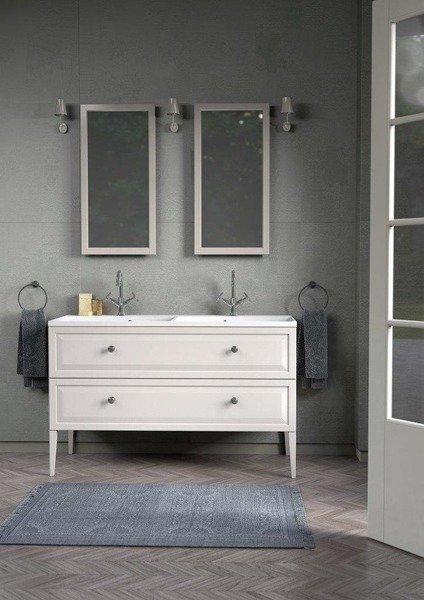 Oristo Zestaw mebli łazienkowych MONTEBIANCO 120 cm biały