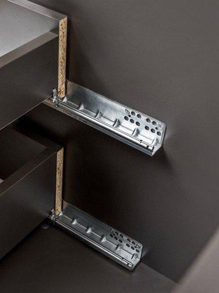 Podwieszana szafka pod umywalką 60 cm Ibiza Antracyt
