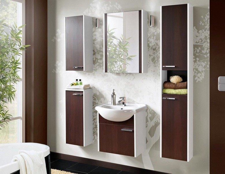 Słupek łazienkowy New York Wenge White 800