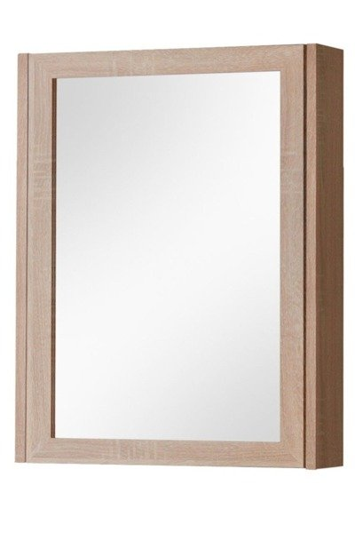 Szafka z lustrem 50 cm Piano dąb sonoma