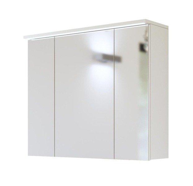 Szafka z lustrem I oświetleniem led 80 cm Galaxy White