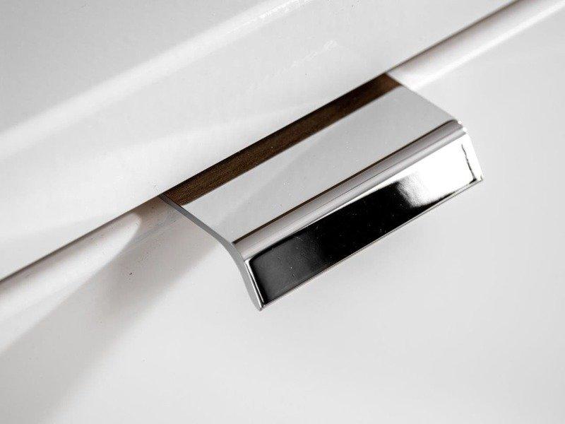 Szafki 60 cm  z umywalką 120 cm Capri biały 820