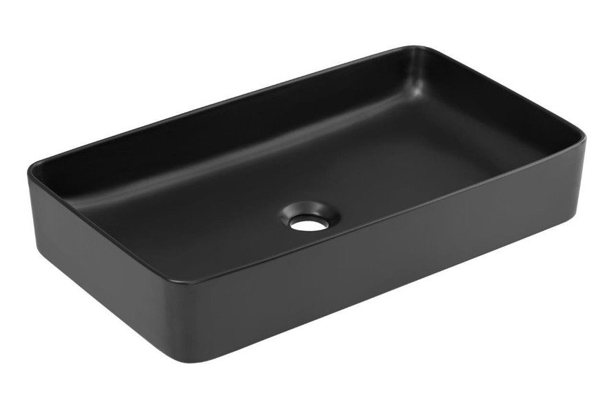 Zestaw mebli łazienkowych 90 cm Brooklyn 827 + UM E-6275 Matt black